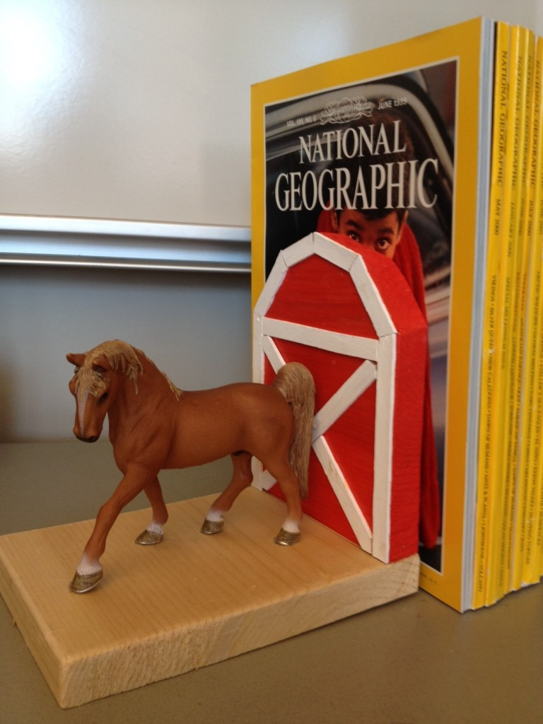 Horse Bookend 4